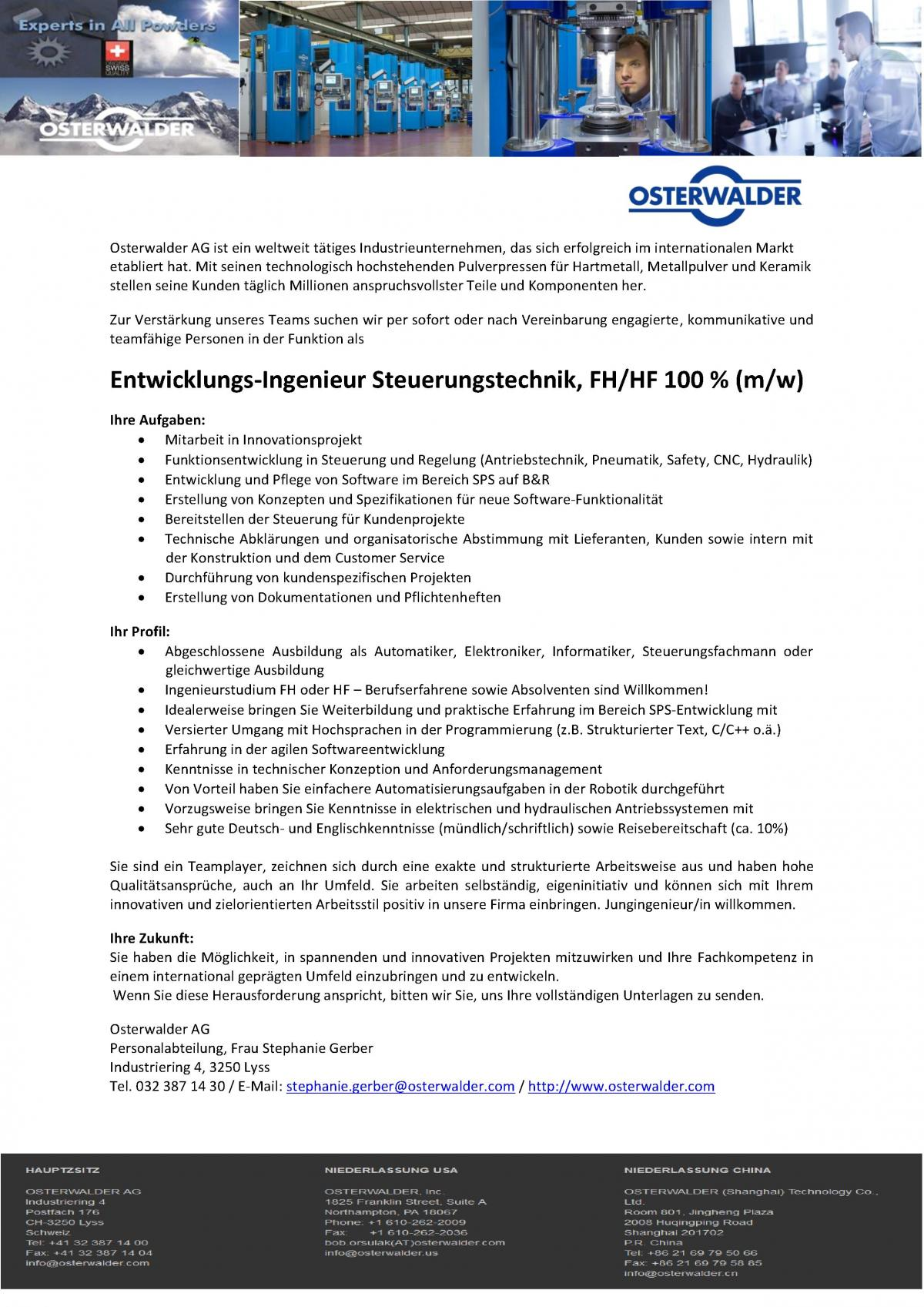 Stellenangebot odec for Ingenieur holztechnik